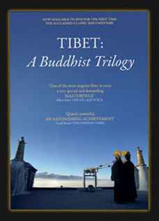 Tibet: A Buddhist Trilogy - the DVD cover